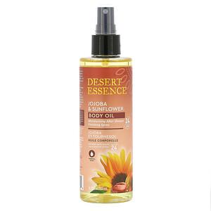 Дезерт Эссенс, Jojoba & Sunflower Body Oil Spray, 8.28 fl oz (245 ml) отзывы