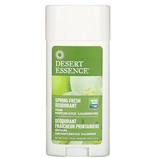 Desert Essence, Deodorant, Spring Fresh, 2.5 oz (70 ml)
