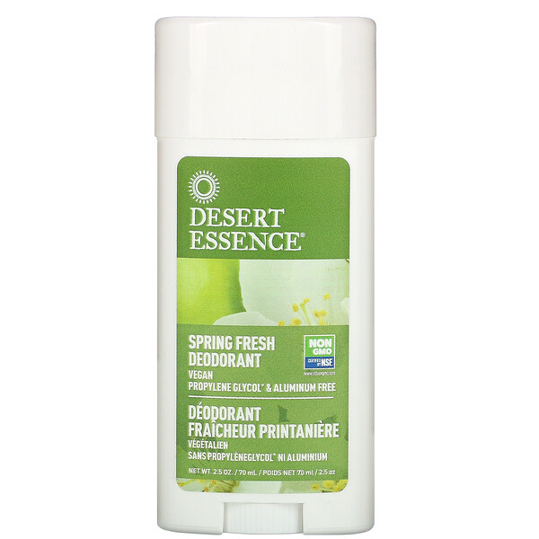 Desodorante, fresca primavera, 70 ml (2,5 oz)