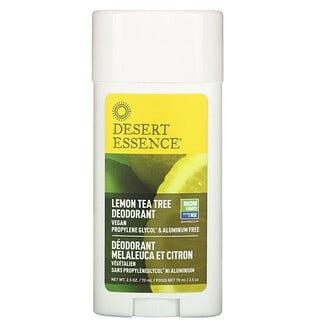 Desert Essence, デオドラント、レモンティーツリー、70ml(2.5オンス)