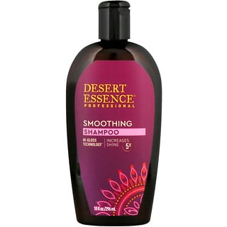 Desert Essence, Smoothing Shampoo, 10 fl oz (296 ml)