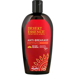 Desert Essence, Anti-Breakage Shampoo, 10 fl oz (296 ml)