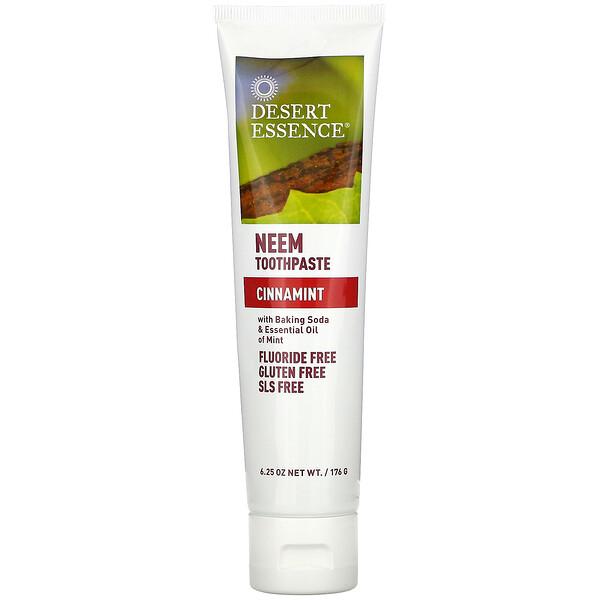 Neem Toothpaste, Cinnamint, 6.25 oz (176 g)