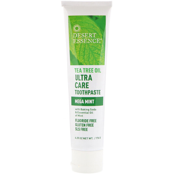 Tea Tree Oil Ultra Care Toothpaste, Mega Mint, 6.25 oz (176 g)