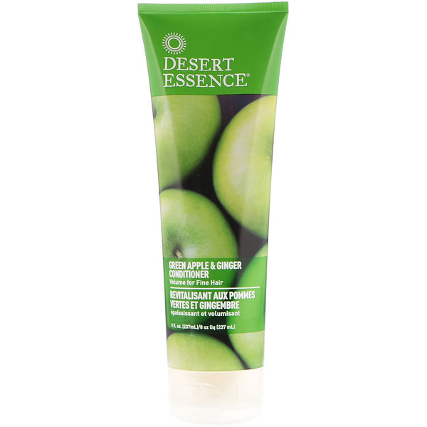 Desert Essence, Conditioner, Green Apple & Ginger, 8 fl oz (237 ml)