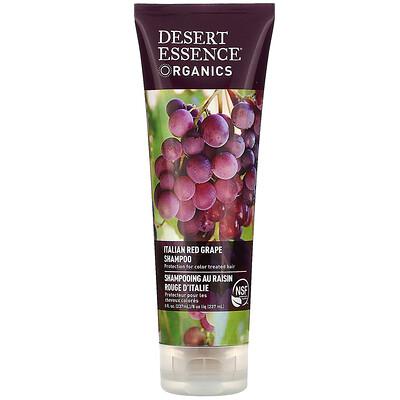 Купить Desert Essence Organics, шампунь с итальянским красным виноградом, 237 мл (8 жидких унций)