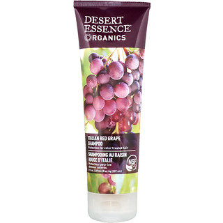 Desert Essence, Organics, Shampoo, Italian Red Grape, 8 fl oz (237 ml)