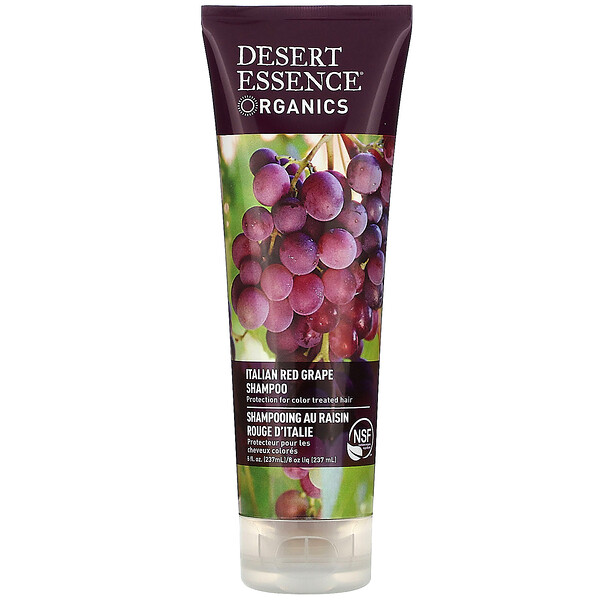 Organics, Shampoo, Italian Red Grape, 8 fl oz (237 ml)