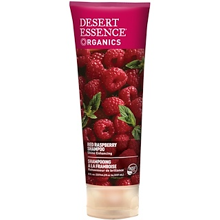 Desert Essence, Organics, Red Raspberry Shampoo, 8 fl oz (237 ml)