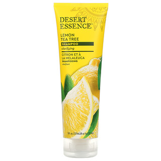 Desert Essence, Shampoo, Lemon Tea Tree, 8 fl oz (237 ml)