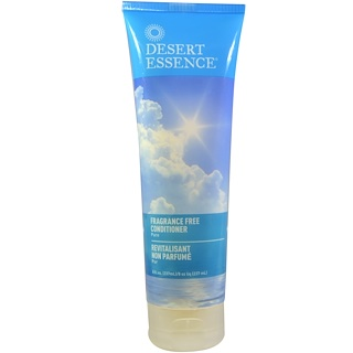 Desert Essence, Fragrance Free Conditioner, Pure, 8 fl oz (237 ml)