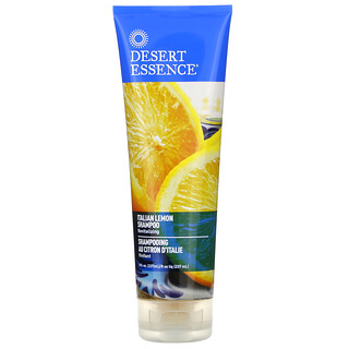Desert Essence, Shampoo, Italian Lemon, 8 fl oz (237 ml)