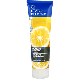 Desert Essence, Acondicionador, limón italiano, 8 fl. Oz (237 ml)