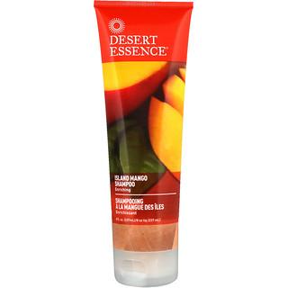 Desert Essence, 아일랜드 망고 샴푸, 인리칭, 8 fl oz (237 ml)
