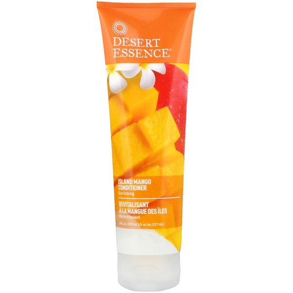 Desert Essence, Conditioner, Island Mango, 8 fl oz (237 ml)