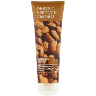Desert Essence, Organics, Body Wash, Sweet Almond, 8 fl oz (237 ml)