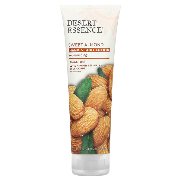 Hand and Body Lotion, Sweet Almond, 8 fl oz (237 ml)