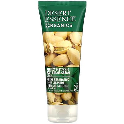 Купить Desert Essence Organics, восстанавливающий крем для ног, Perfect Pistachio, 103, 5 мл (3, 5 жидкой унции)