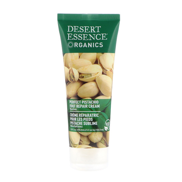 Desert Essence, Organics, Foot Repair Cream, Perfect Pistachio , 3.5 fl oz (103.5 ml)