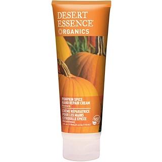 Desert Essence, Organics, Hand Repair Cream, Pumpkin Spice, 4 fl oz (118 ml)