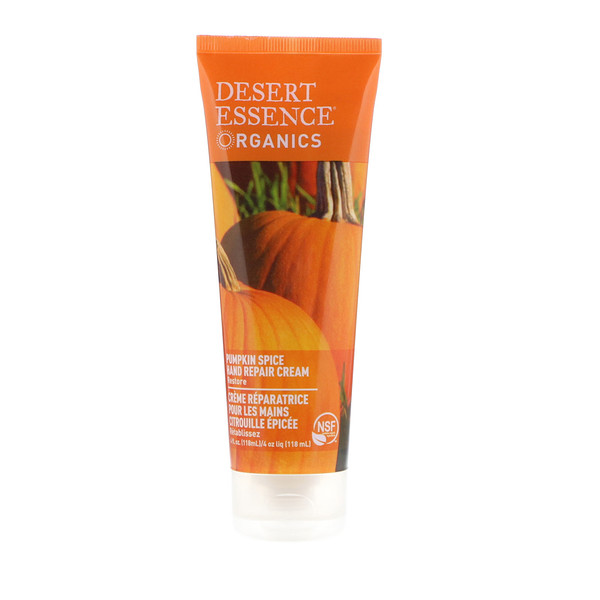Organics, Hand Repair Cream, Pumpkin Spice, 4 fl oz (118 ml)
