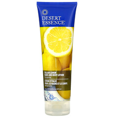 Desert Essence, 手和身體乳液,義大利檸檬,8 液量盎司(237 毫升)