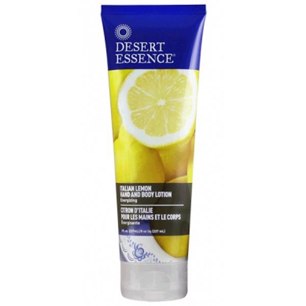 Desert Essence, Hand and Body Lotion, Italian Lemon, 8 fl oz (237 ml)