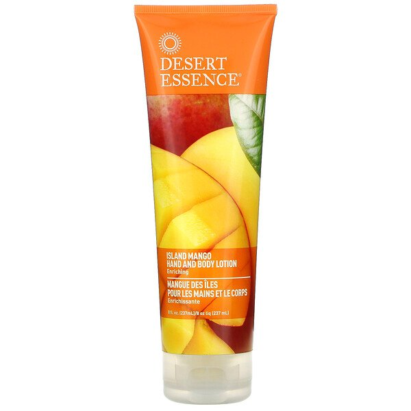 Hand and Body Lotion, Island Mango, 8 fl oz (237 ml)