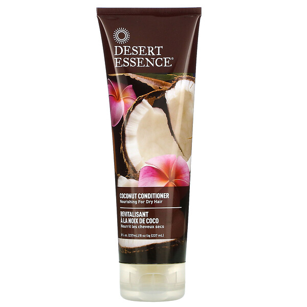 Conditioner, Coconut, 8 fl oz (237 ml)