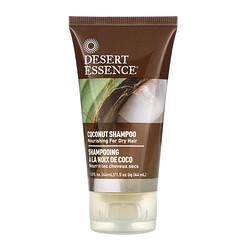 Desert Essence, 旅行裝,椰子洗髮露,1.5 液量盎司(44 毫升)