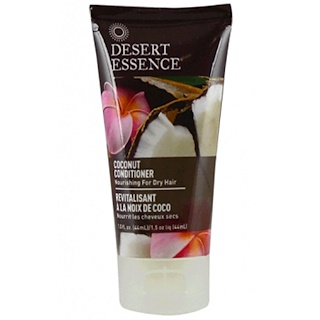 Desert Essence, Travel Size, Coconut Conditioner, 1.5 fl oz (44 ml)