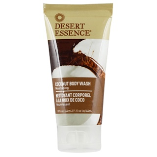 Desert Essence, Travel Size, Coconut Body Wash, 1.5 fl oz (44 ml)