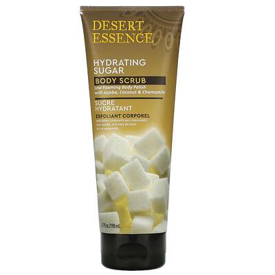 Desert Essence Hydrating Sugar Body Scrub, 6.7 fl oz (198 ml)