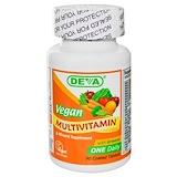 Отзывы о Deva, Мультивитаминная и минеральная добавка для веганов, 90таблеток, покрытых оболочкой