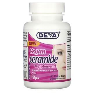 Deva, 纯素神经酰胺,60 粒纯素胶囊