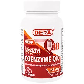 Deva, Coenzima Q10, 25 mg, 90 Tabletas
