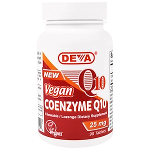 Дева, Vegan, Coenzyme Q10, 25 mg, 90 Tablets отзывы покупателей