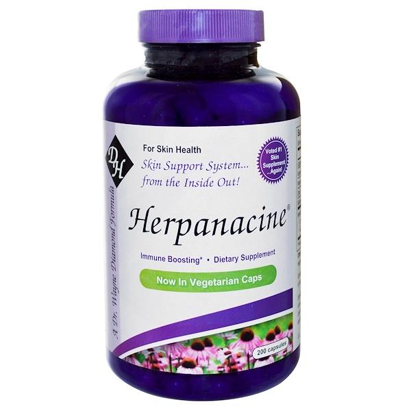 Diamond Herpanacine Associates, Herpanacine, 200 Capsules
