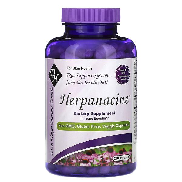 Herpanacine, 200 Capsules