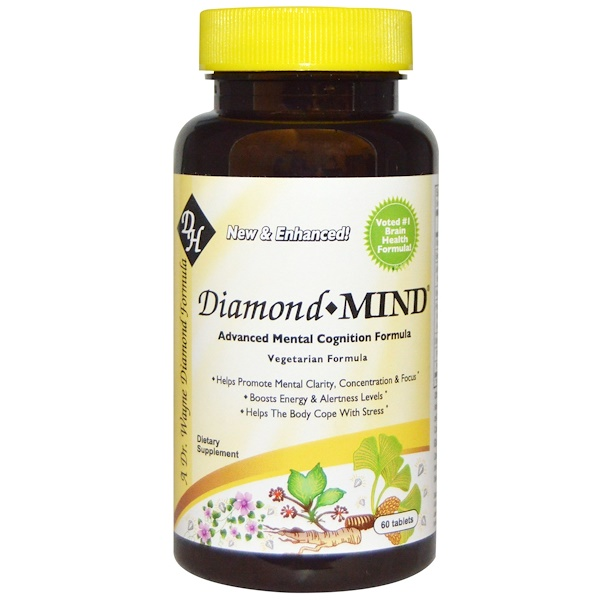 Diamond Herpanacine Associates, Diamond Mind, 60 Tablets (Discontinued Item)