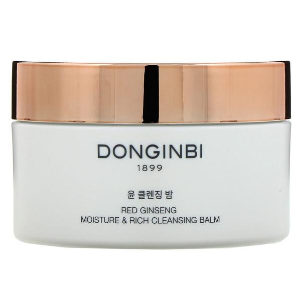 Red Ginseng Moisture & Rich Cleansing Balm, 4.73 fl oz (140 ml)