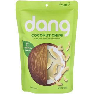 Dang Foods LLC, Поджаренные кокосовые чипсы, 3.17 унций (90 г)