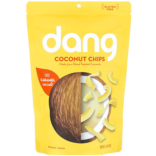Dang, Coconut Chips, Caramel Sea Salt, 3.17 oz (90 g)