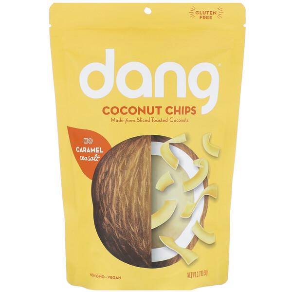 Coconut Chips, Caramel Sea Salt, 3.17 oz (90 g)