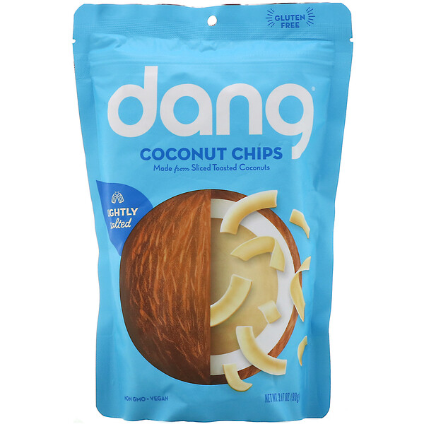 Coconut Chips, Lightly Salted, 3.17 oz (90 g)