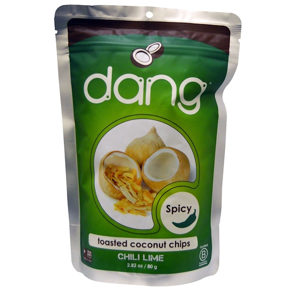 Dang, Toasted Coconut Chips, Chili Lime, 2.82 oz (80 g) (Discontinued Item)