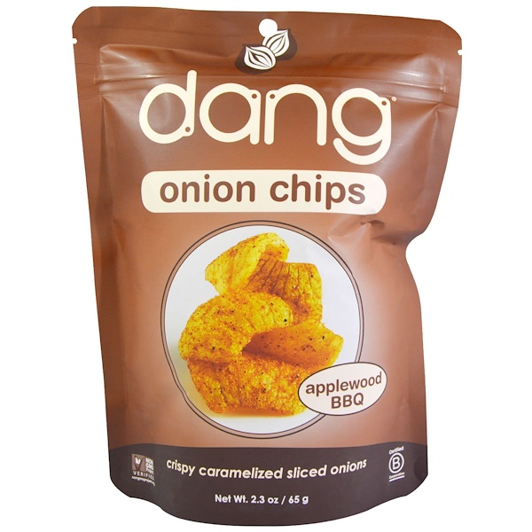Dang, Onion Chips, Applewood BBQ, 2.3 oz (65 g) (Discontinued Item)