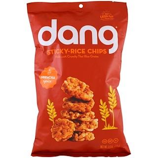 Dang Foods LLC, スティッキーライスチップ、スリラッチャ、3.5 oz (100 g)