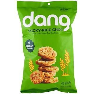 Dang Foods LLC, スティッキーライスチップ、ココナッツ、3.5 oz (100 g)