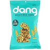 Dang, Sticky-Rice Chips, Savory Seaweed, 3.5 oz (100 g)